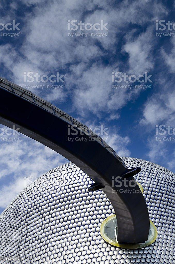 Modern architecture, Birmingham, England royalty-free stock photo