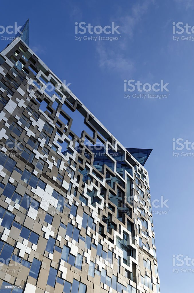 Modern architecture - Birmingham stock photo