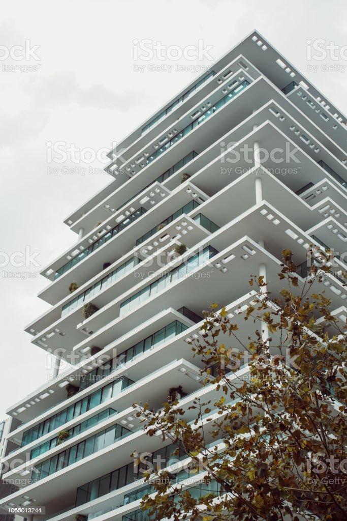 Arquitectura Moderna Del Edificio En Beirut Líbano Terrazas Y Diseño Realmente Hermoso Foto De Stock Y Más Banco De Imágenes De Aire Libre