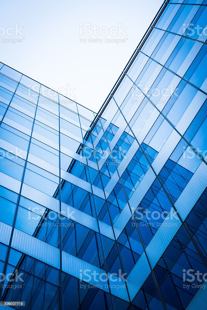 Modern architecture building stock photo