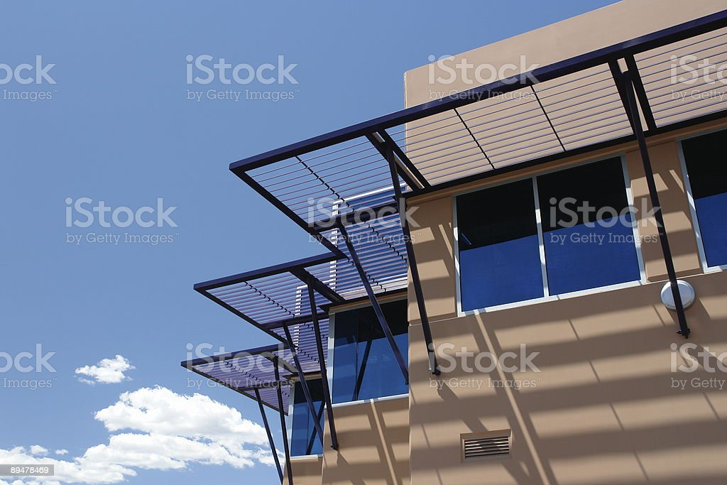 modern architecture building royalty-free stock photo