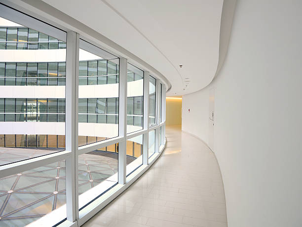 Moderne Architektur-Korridor – Foto
