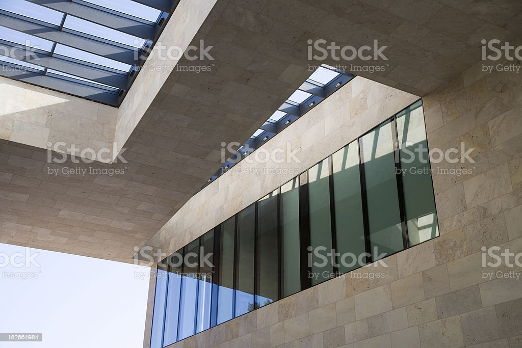 modern architecture detail royalty-free stock photo