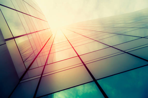 modern architecture – double exposure - generic location stock pictures, royalty-free photos & images