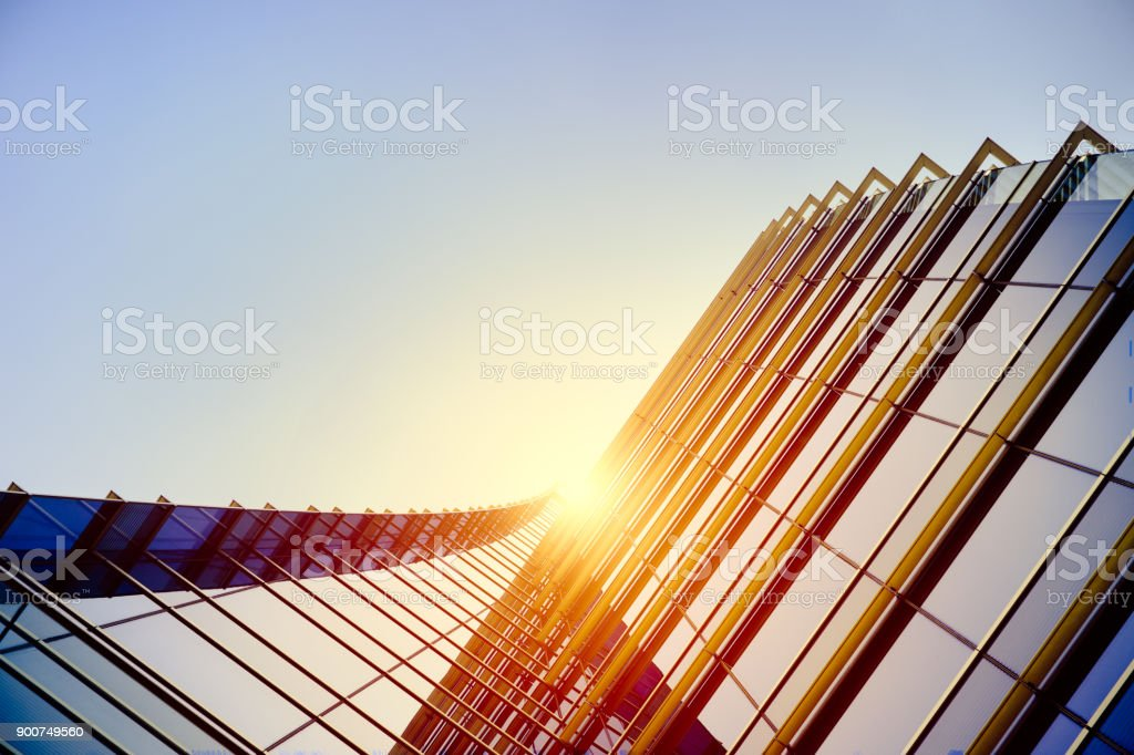 Modern architecture – double exposure foto stock royalty-free