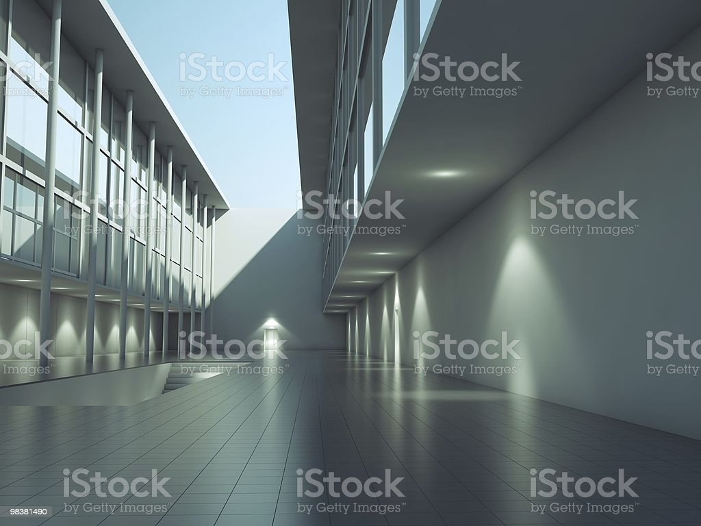 Modern architecture exterior royalty-free stock photo