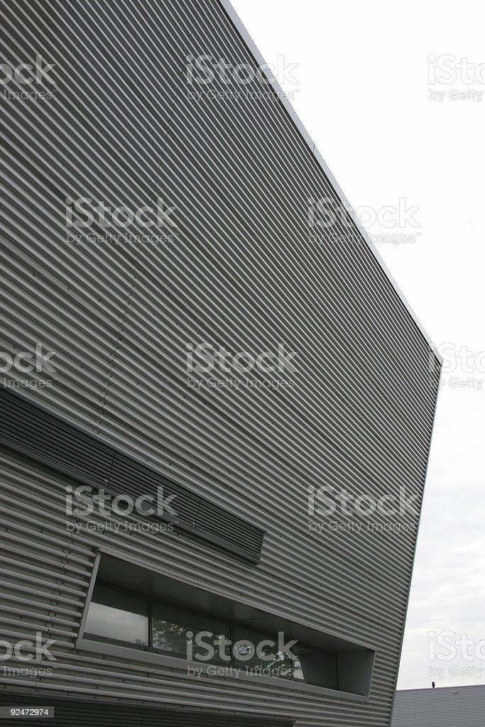 Modern architecture factory royalty-free stock photo