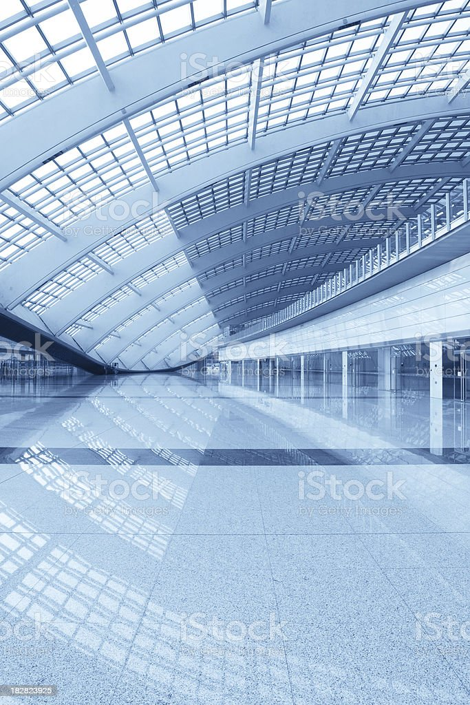 Modern Architecture Hall - XLarge royalty-free stock photo