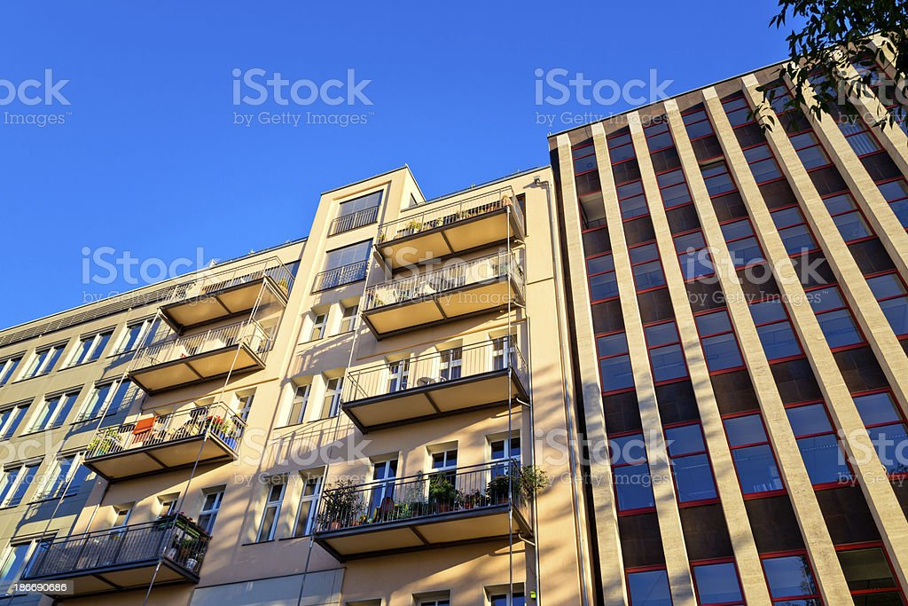 Modern Architecture in Berlin, Germany royalty-free stock photo