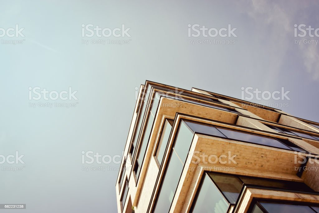 Modern Architecture in Berlin royalty-free stock photo