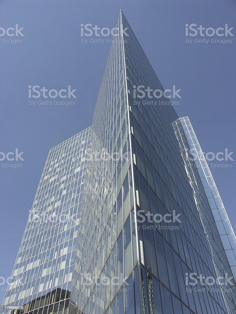Modern architecture in La Defense (Paris, France) stock photo