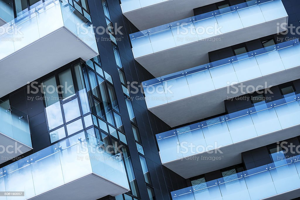 Modern Architecture In Milan Italy Stock Photo Download