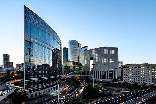 La Defense, business district in Paris