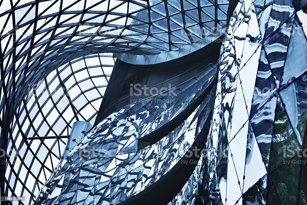 Modern Architecture in Singapore royalty-free stock photo