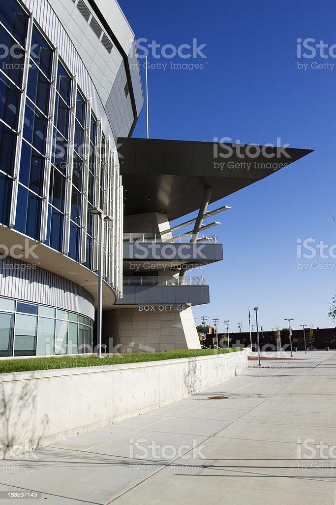 Modern architecture in Wichita, Kansas stock photo