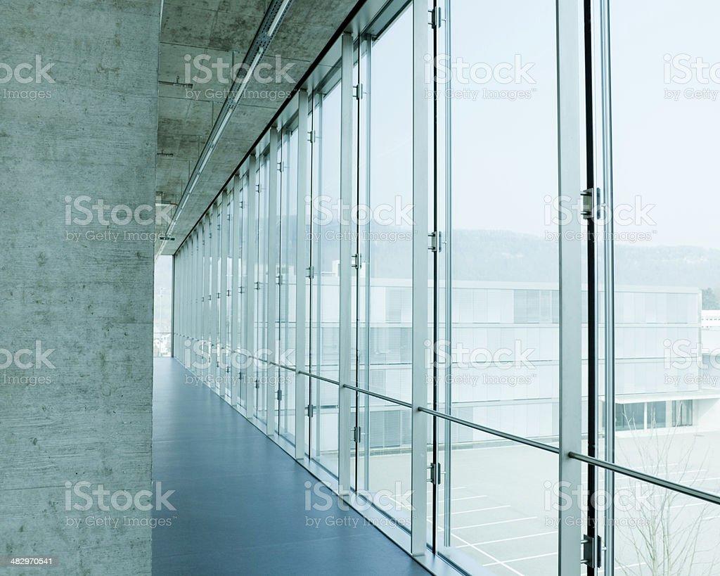 Modern Architecture Interior royalty-free stock photo