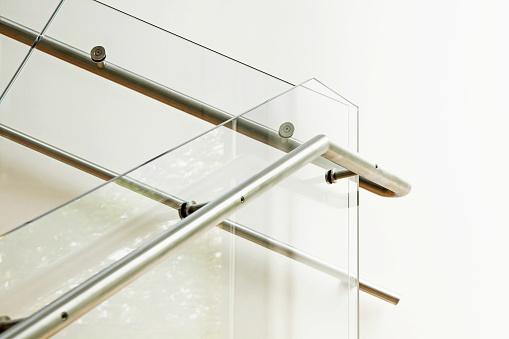 Moderne Architektur Innenraum Mit Glas Balustrade Stockfoto und mehr Bilder von 2015