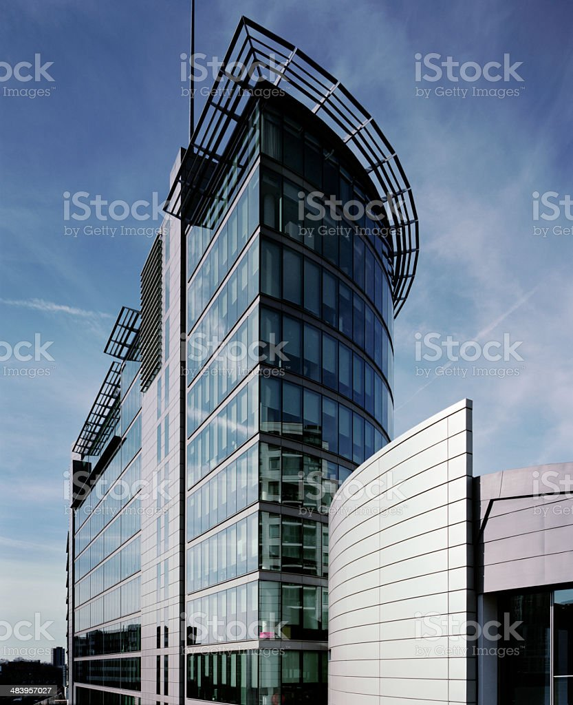 Modern Architecture, London royalty-free stock photo