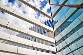 Modern architecture of Lisbon, EDP, Portugal Energy Building