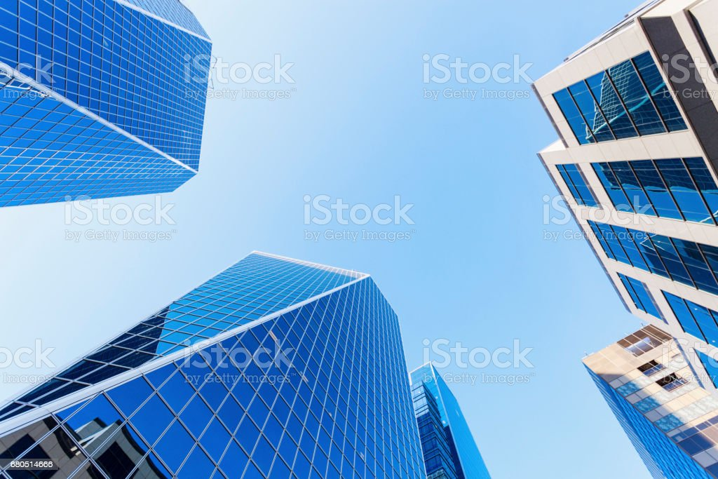 Modern architecture of Regina stock photo