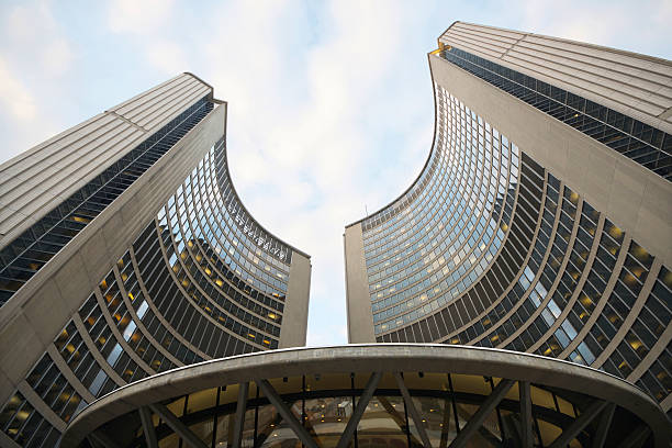 Moderne Architektur der City Hall, Toronto – Foto