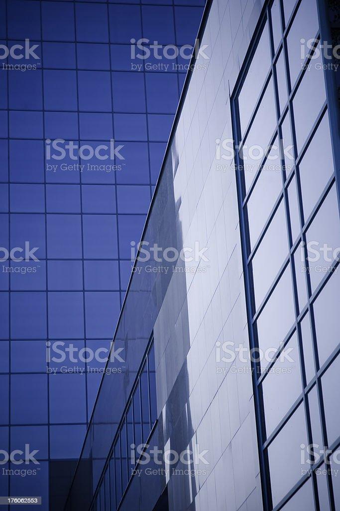 Modern architecture stock photo