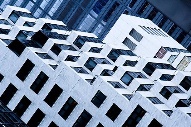 Arquitectura moderna - foto de stock
