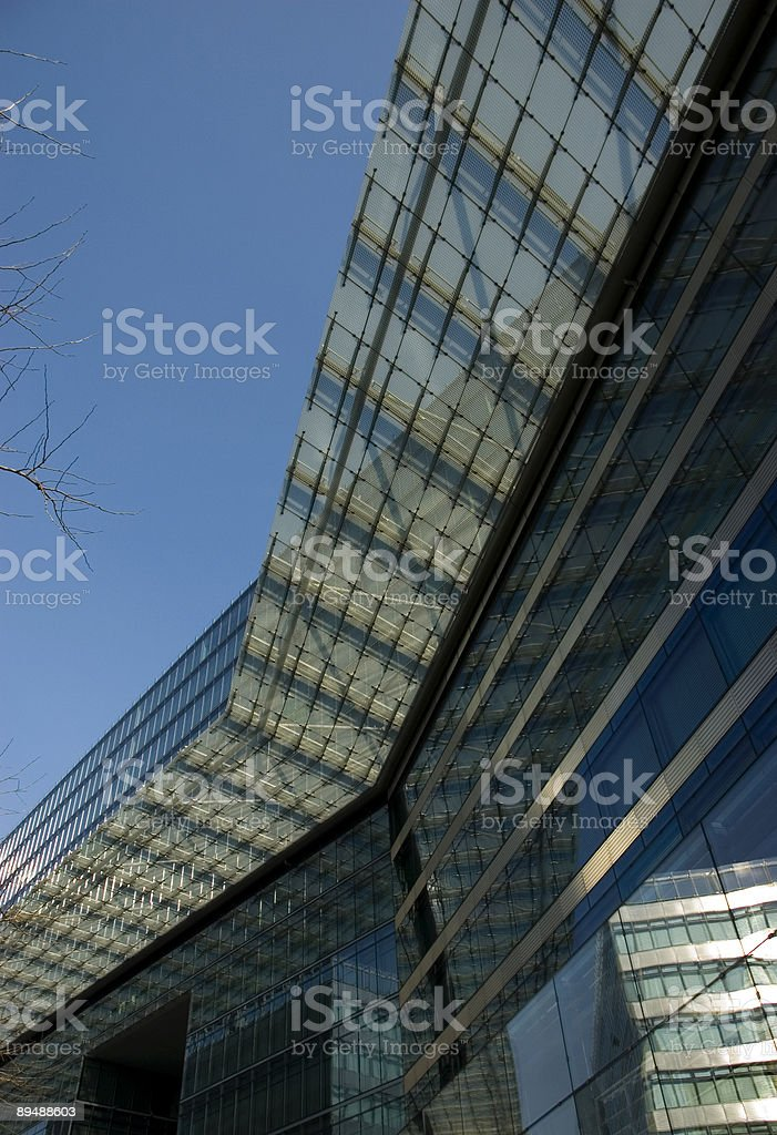 modern architecture royalty-free stock photo