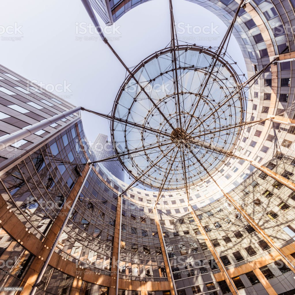 Moderne Architektur mit Sonne, Schatten-Struktur – Foto