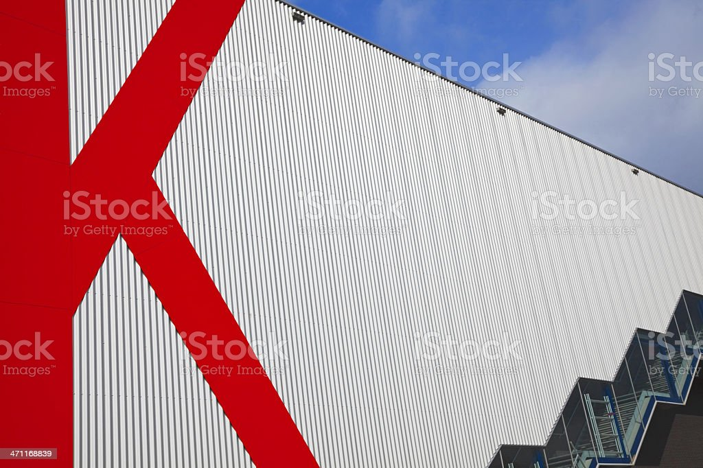 Modern architecture XXXL royalty-free stock photo