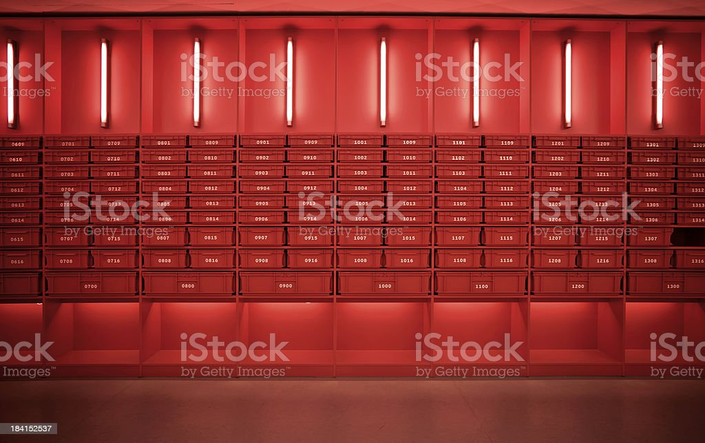 modern archive royalty-free stock photo