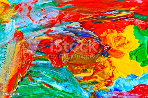 475744392 istock photo modern art, abstract painting with oil paints 470770378