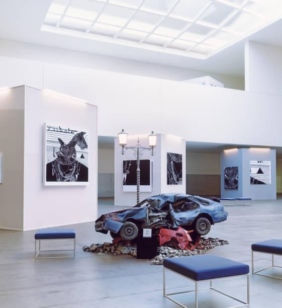 modern art. stock photo