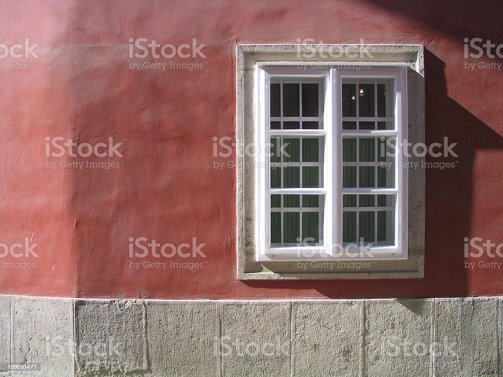 modern art window royalty-free stock photo