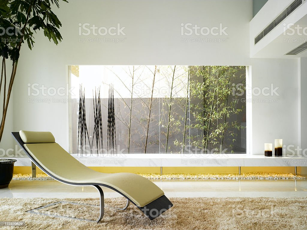 Modern Asian Interior royalty-free stock photo