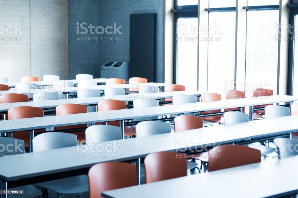 Modernes Auditorium an einer Universität – Foto