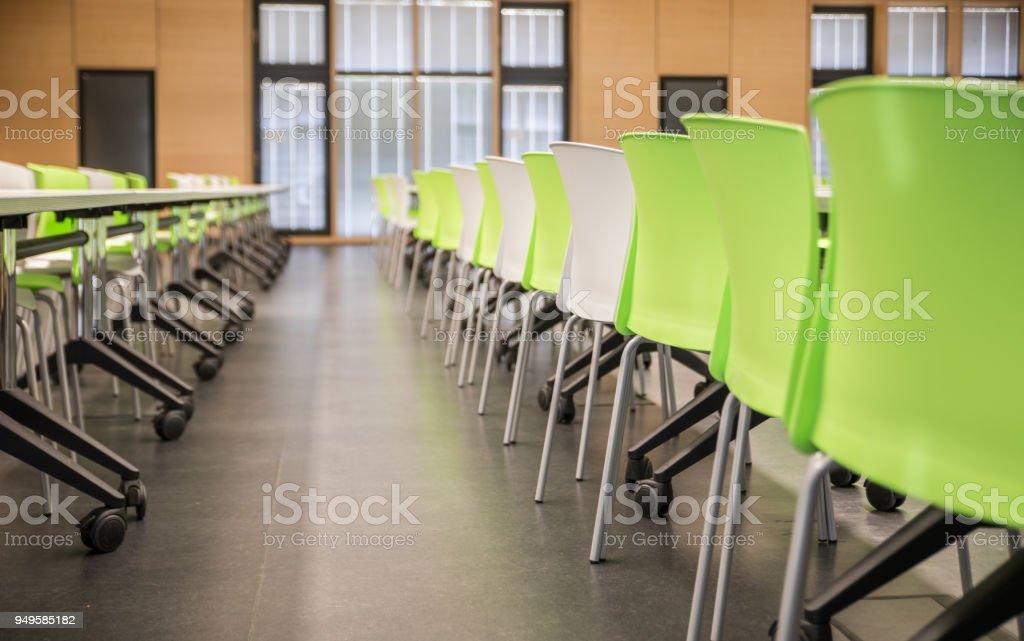 modern auditorium at a university