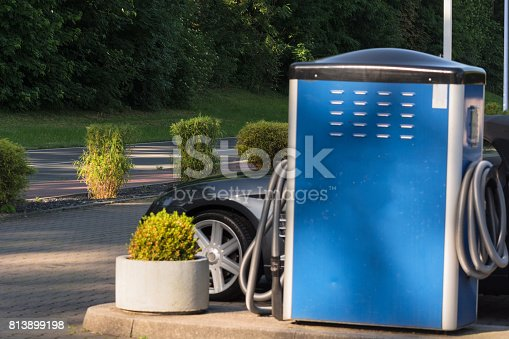 istock Modern auto-cleaning self-service 813899198