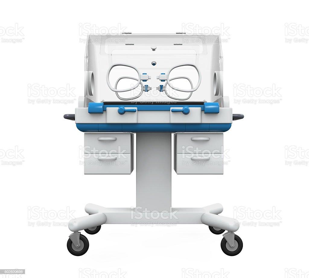 Modern Baby Incubator stock photo