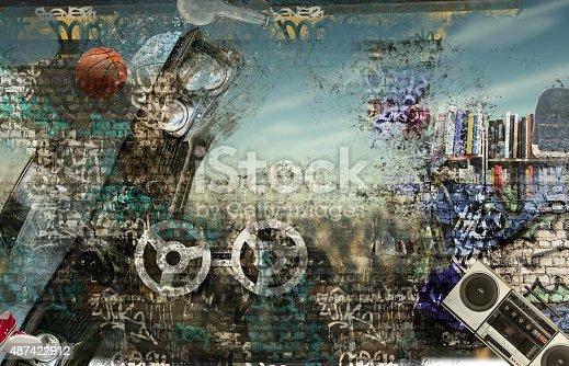 istock Modern background 487422912