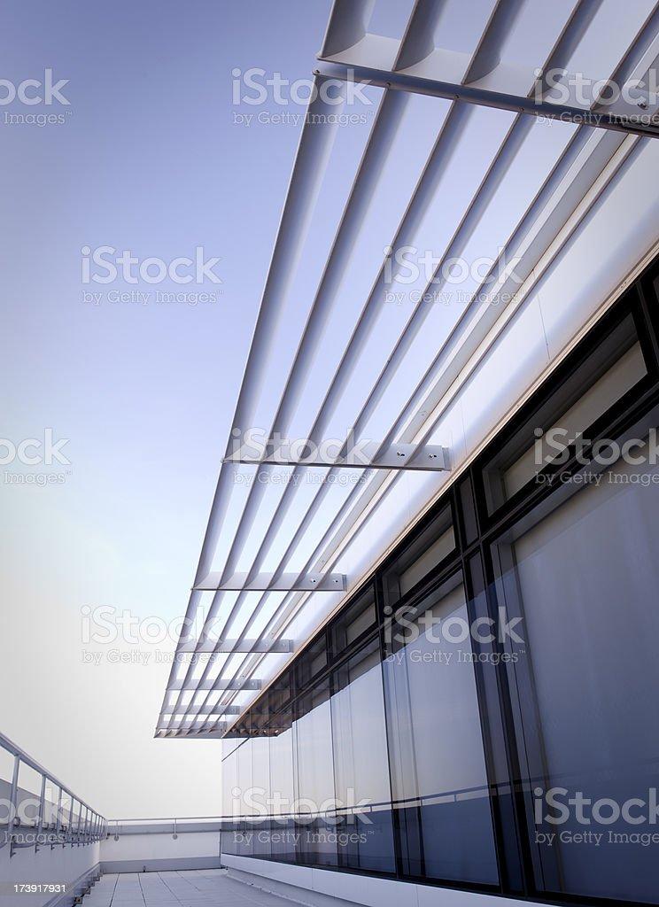 Modern balcony royalty-free stock photo
