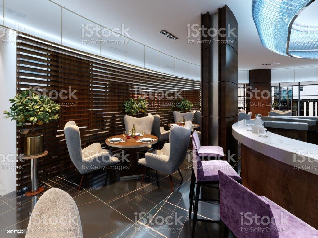 Interieur D Un Bar photo libre de droit de bar moderne et intérieur du