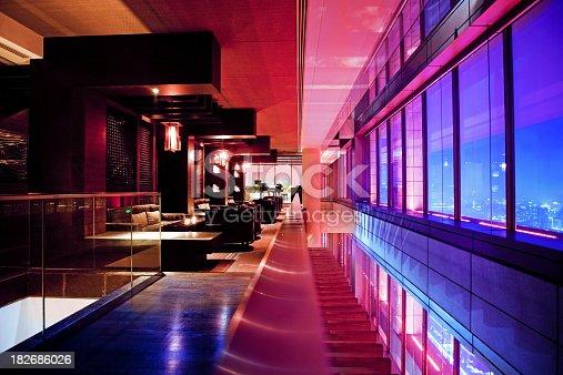 Bar Lounge in a skyscraper