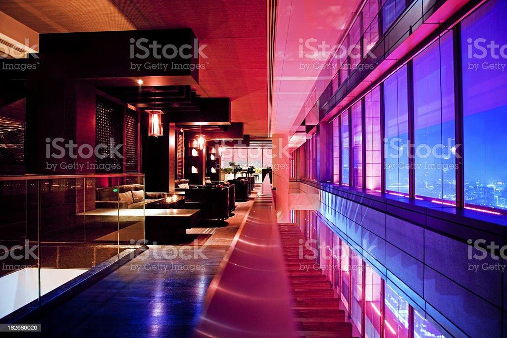 Modern Bar Lounge stock photo