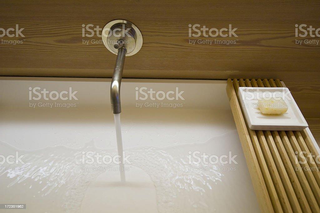 Moderno lavabo foto de stock libre de derechos