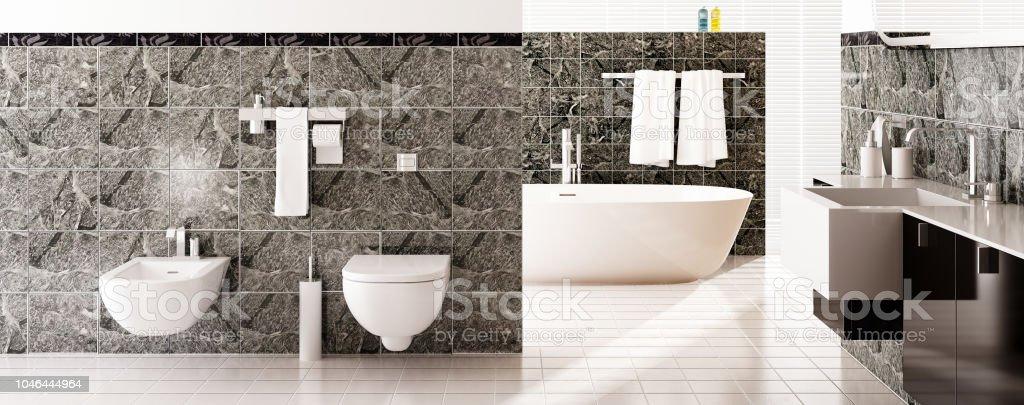 Modernes Baddesign Stockfoto und mehr Bilder von Architektur ...