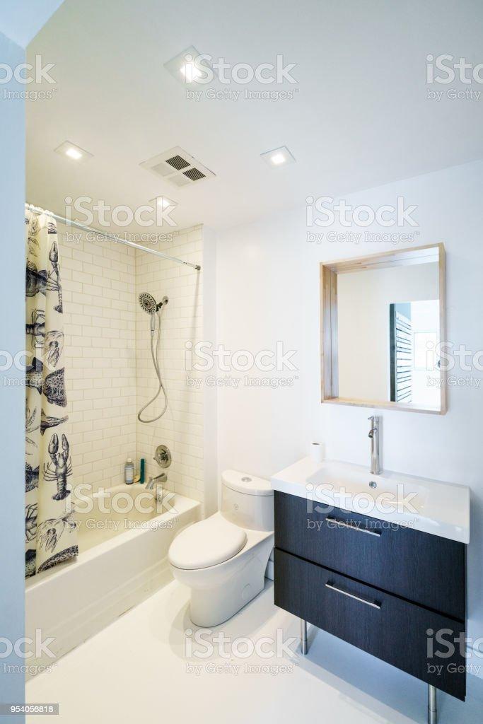 Modernes Badezimmer Innenraum Lizenzfreies Stock Foto