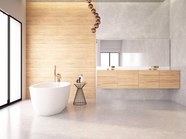 현대적인 욕실 - 욕실 뉴스 사진 이미지