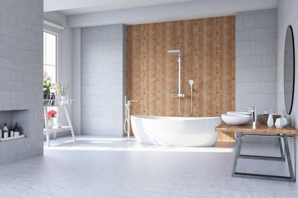 Modern Bathroom stock photo