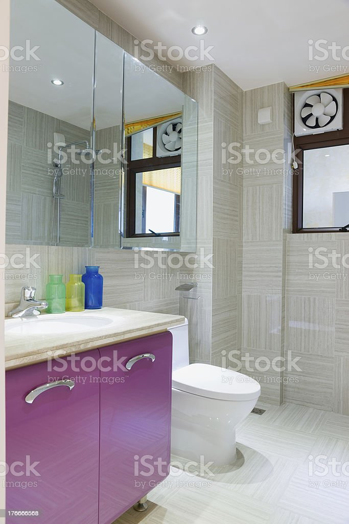 Baño moderno foto de stock libre de derechos